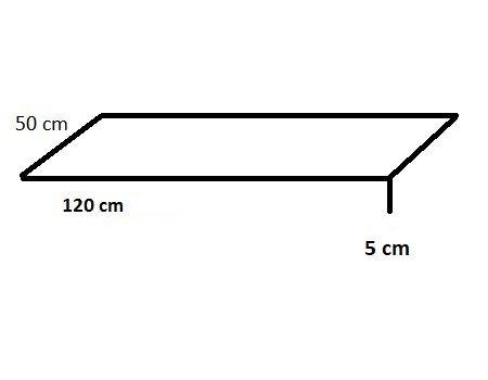 Gartenbank Sitzauflage 120 x 50 x 5 cm