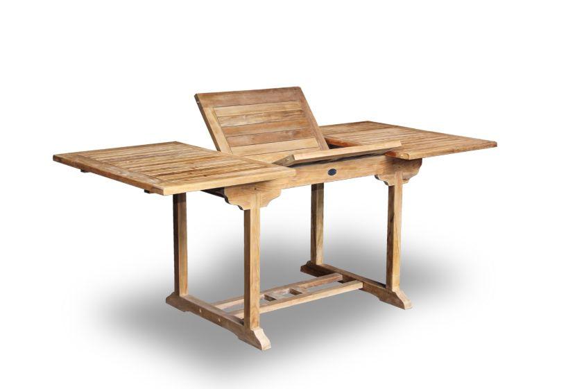 Rechteckig, Massive Teak Tisch, Gartentisch