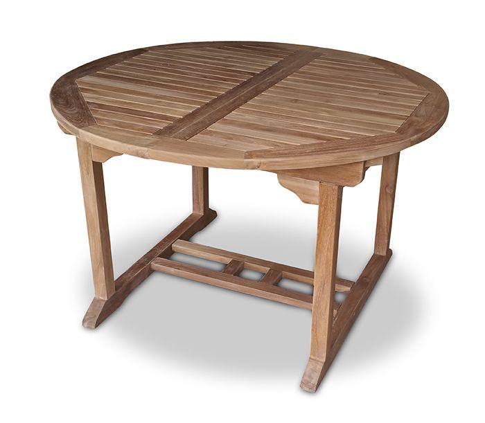 Gartentisch rund ausziehbar