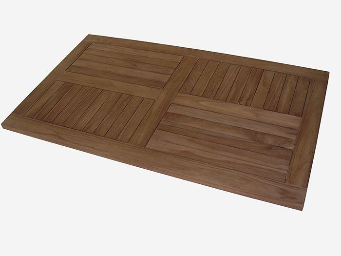 Teak Tisch Platte